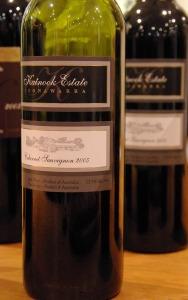 Australian wine bottle